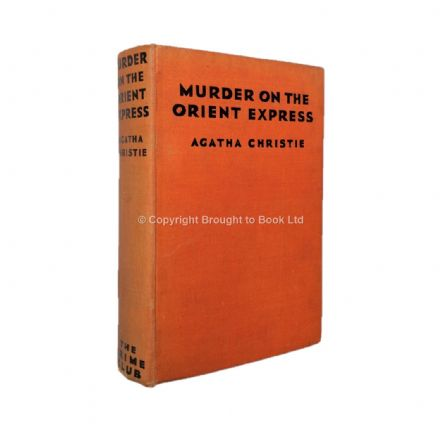 Murder On the Orient Express by Agatha Christie First Edition Collins, The Crime Club 1934